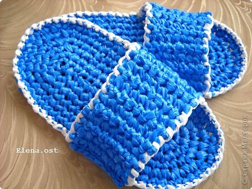 Вязание из пластиковых пакетов 48