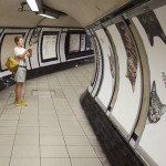 кошки в лондонском метро